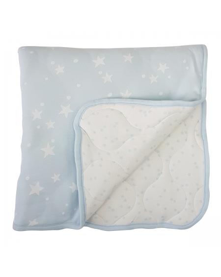Colcha/ cobertor colecho celeste galaxy