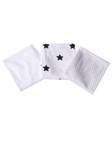 Set de tutos estrellas/negro